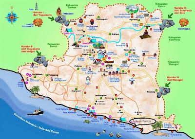 rute lokasi pantai