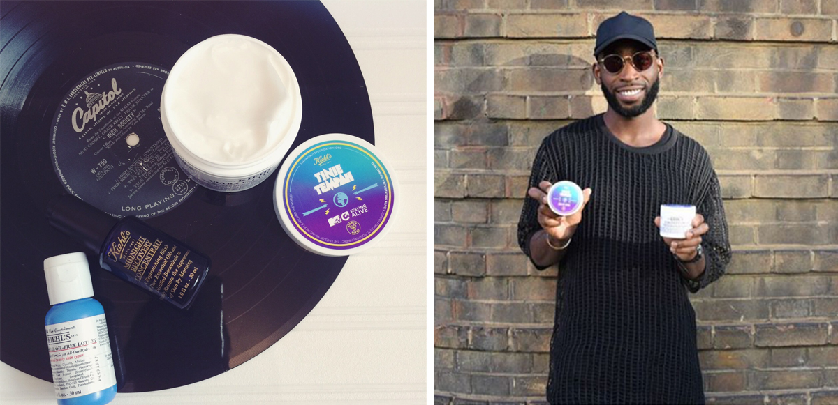 Tinie for Kiehls Ultra Facial Cream