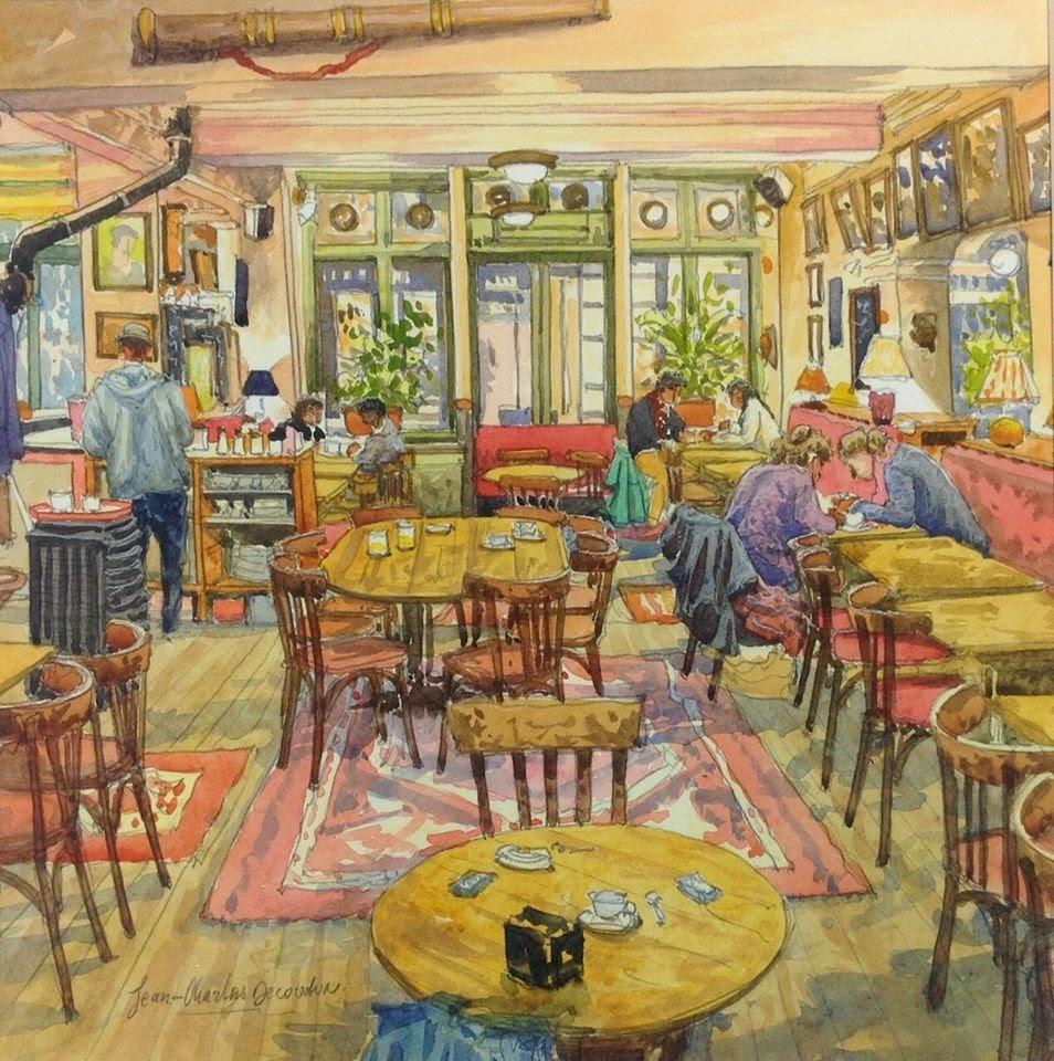 Jean Charles Decoudun L int C Arieur du chaleureux caf C A de l industrie  C A Paris