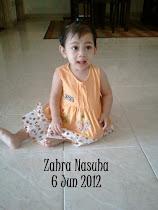 Zahra Nasuha 1 Tahun
