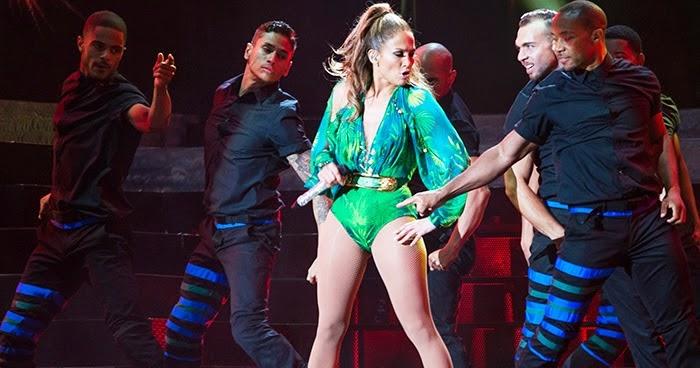 Jennifer Lopez Dancers Dance Again Tour