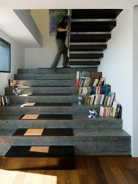Escaleras que son la protagonistas de nuestras casas - Cositas ...