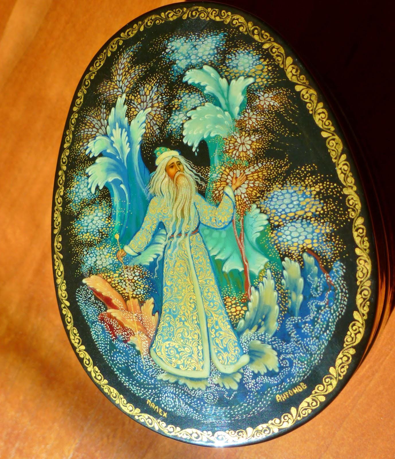 Julia's Bookbag: Russian Lacquer Fairy Tales