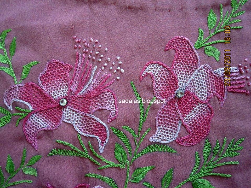 Sadala39s Embroidery Net Workvala Kuttu