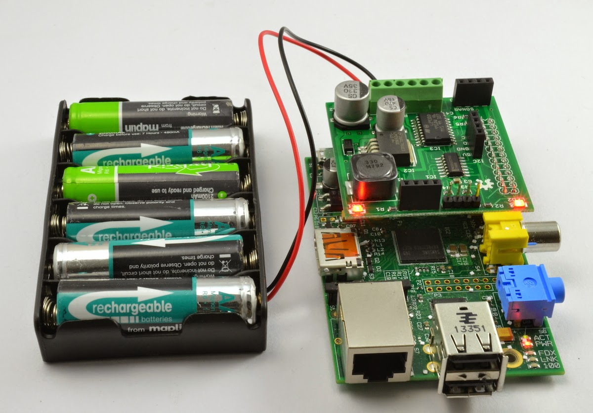 Dr Monks Diy Electronics Blog Raspberry Pi Battery Power Alkaline Charger Schematic You Will Need Six Cells Especially If Are Using Rechargeable Batteries Which A Slightly Lower Voltage Than