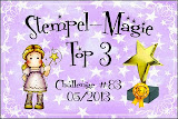 Top 3 @ Stamp Magic, 29th May.