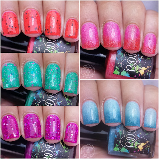 CDB Lacquer - Summer 2015 Collection