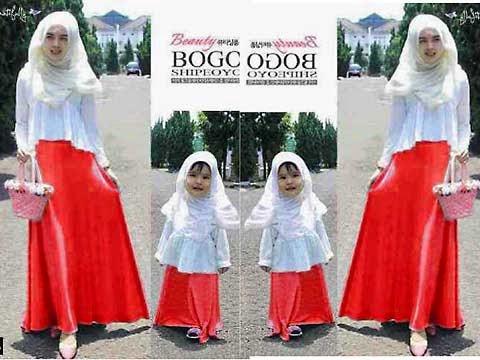 17 Baju Muslim Couple Ibu Dan Anak Terbaru