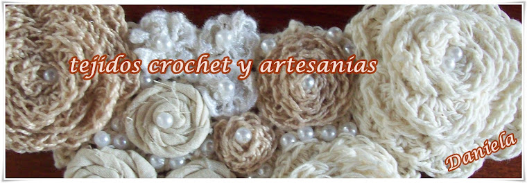tejido crochet y artesanías