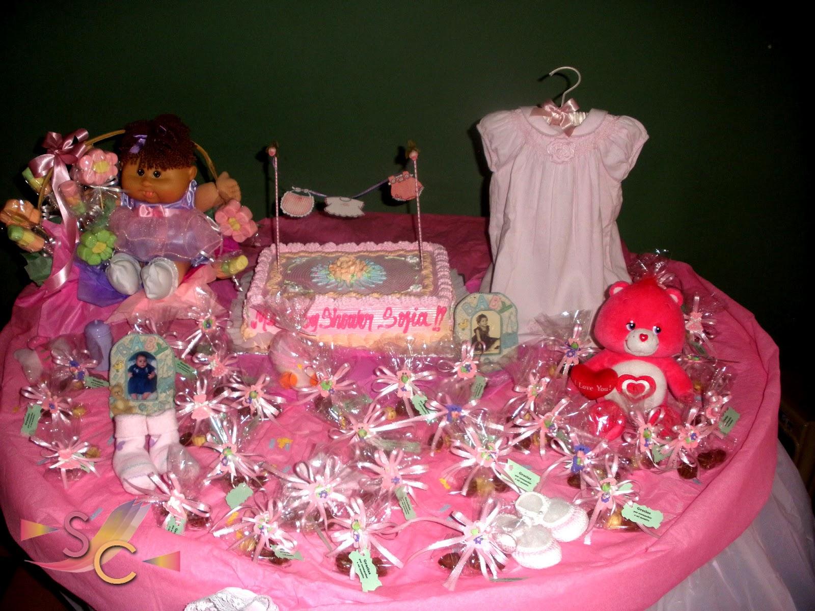 Sara screativa decoraci n baby shower para ni a for Decoracion baby shower nina