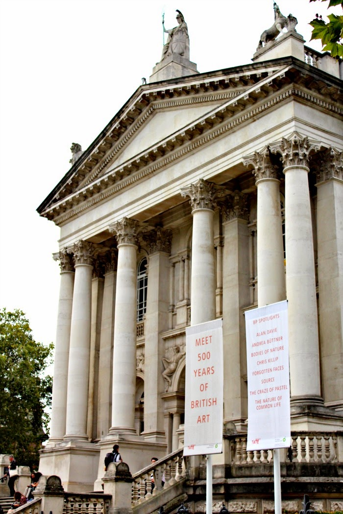 Tate Britain Millbank Entrance