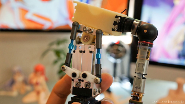 3D Printed Doll arms and servomotors