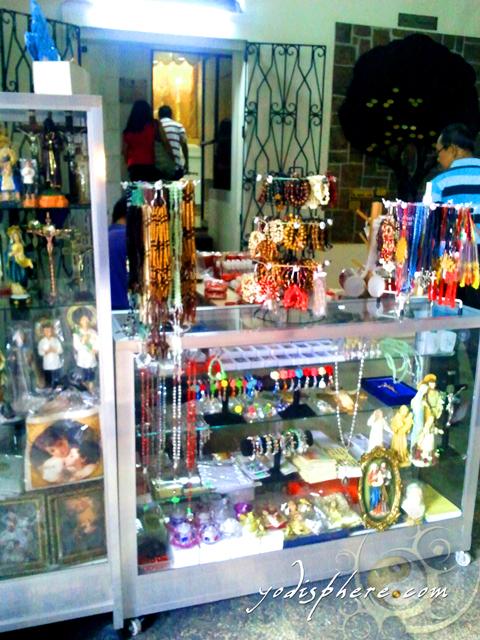 Small shop inside the Binondo Church
