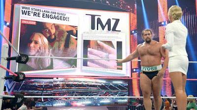 Ziggler TMZ Lana Summer Rae Rusev Affair Marriage WWE
