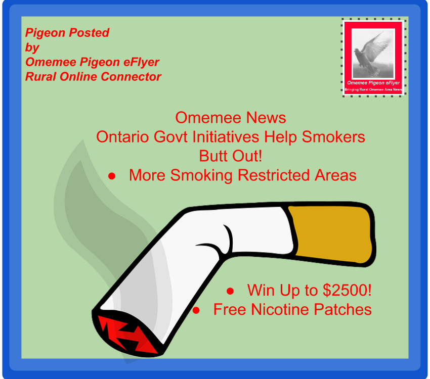 image Omemee news Initiatives Help Smokers Keep New Years Resolutions Shows broken cigarette