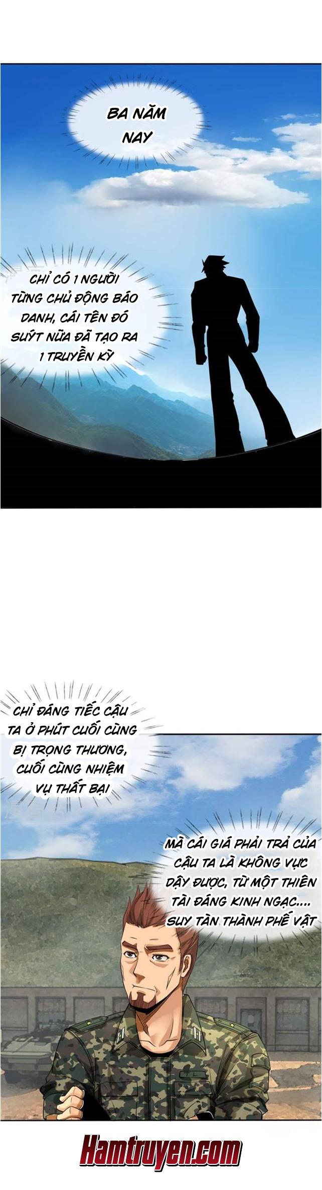 Tuyệt Thế Binh Vương: Chapter 1