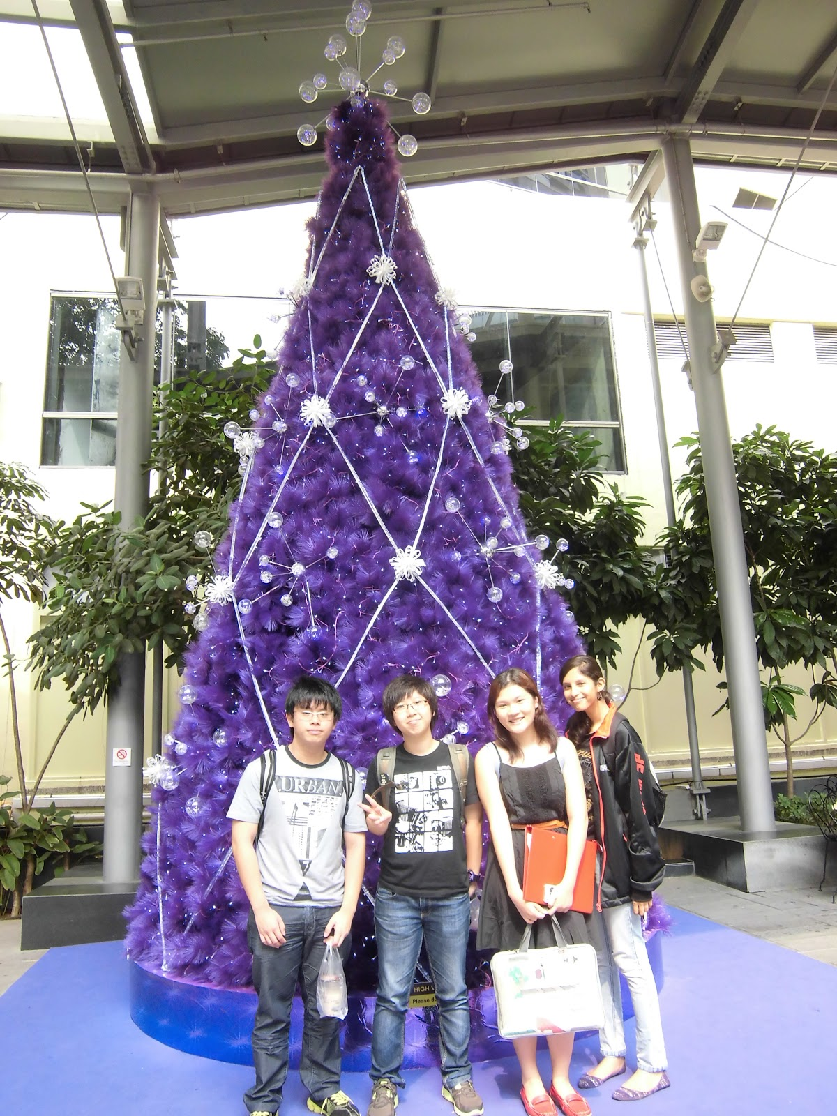 S82 dbit visiting our final year project fyp client shiseido singapore - Shiseido singapore office ...