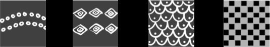 Contoh Motif Isen Pada Batik Malaysia