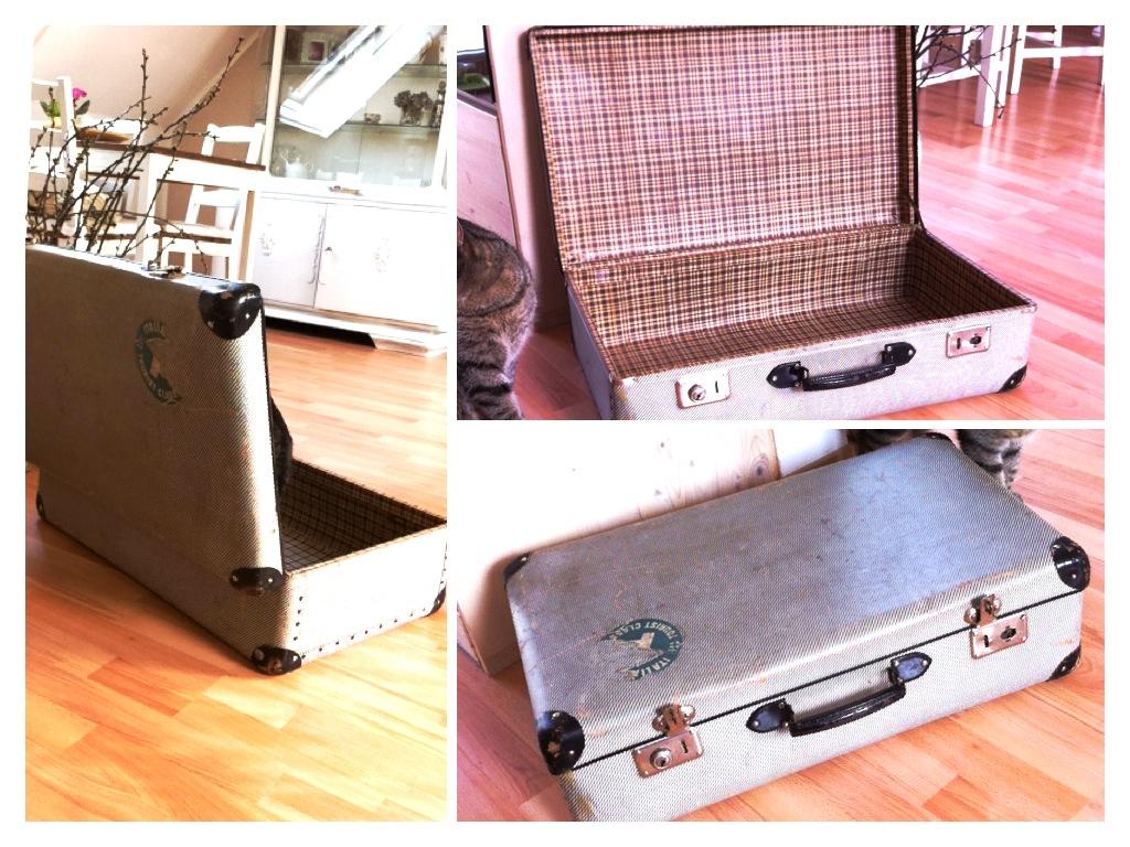 serendipity is life vintage katzen koffer schlafplatz einfach wundersch n. Black Bedroom Furniture Sets. Home Design Ideas
