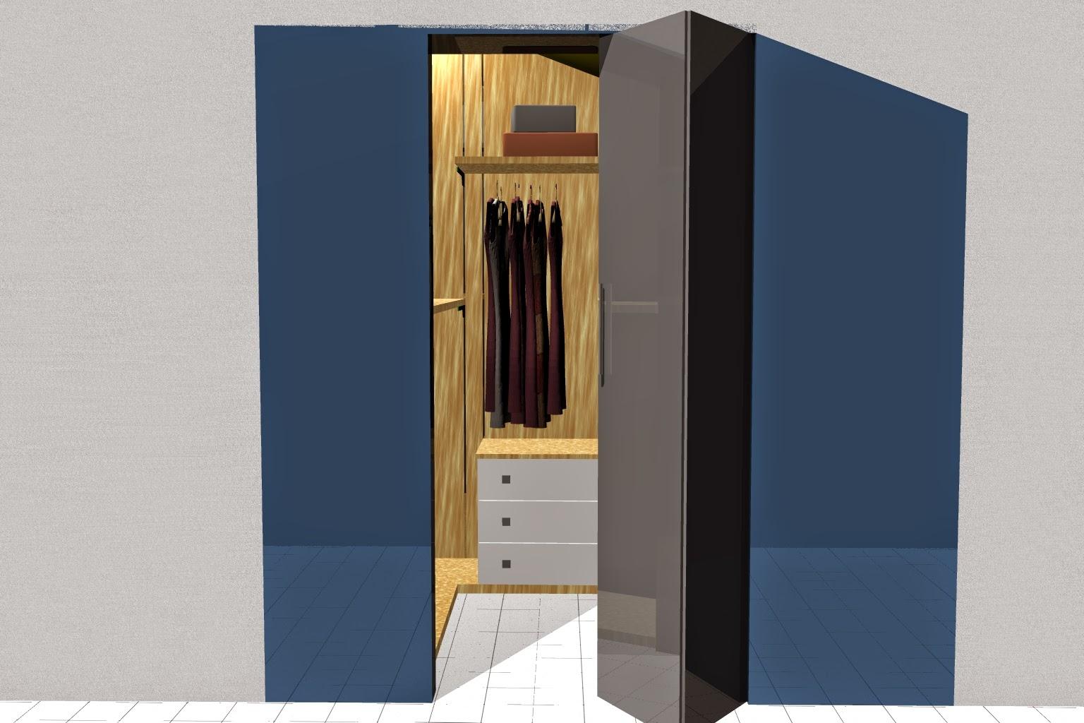 Arredamentincasa cabina armadio per mansarda come arredare for Arredare cabina armadio