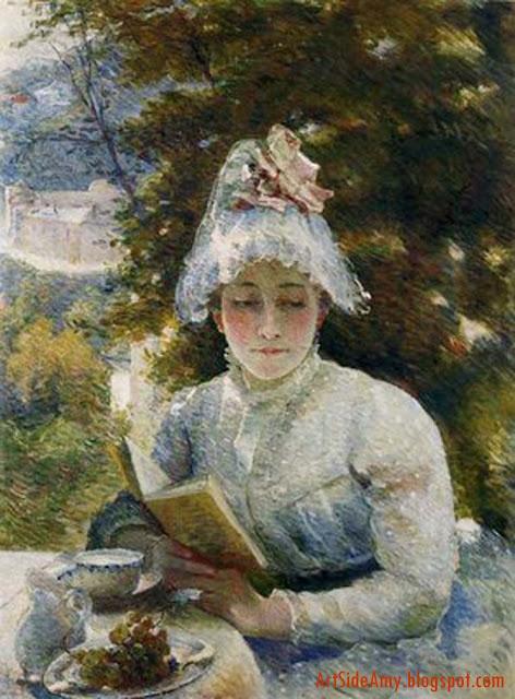 Le goûter, Marie Bracquemond