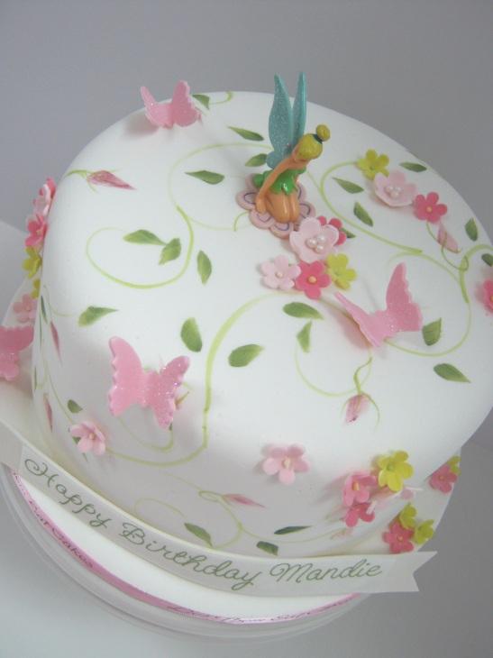 Let Them Eat Cakes Tinkerbell Birthday Cake