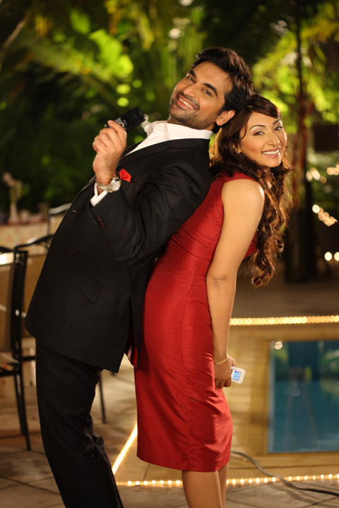 Humayun Saeed with Ayesha Khan