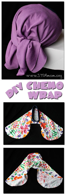 DIY Chemo Wrap for Teen Girl: from STEMmom.org