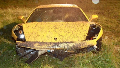Violent Lamborghini Gallardo Crash in Germany