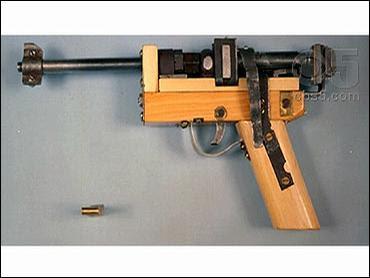 kaczynski's homemade gun