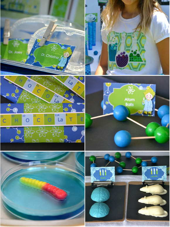 ... Birthday Party Ideas: Mad Scientist Science Inspired Birthday Party