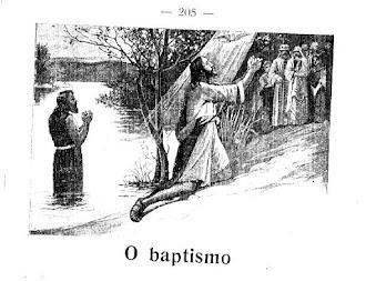 O BATISMO BÍBLICO/APOSTÓLICO
