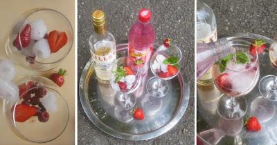 Zubereitung Lillet Wild Berry, Lillet Wild Berry selber machen
