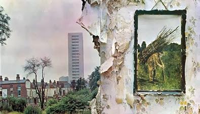 A Capa do disco IV do Led Zeppelin