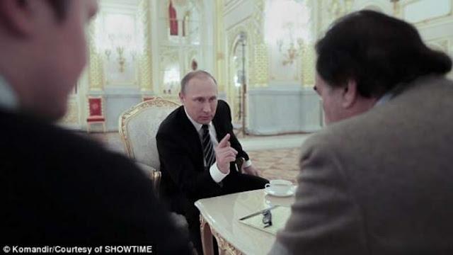 V.Putin προς Ο.Stone: Δοκίμασαν να με σκοτώσουν 5 φορές  Είμαι ακόμα εδώ