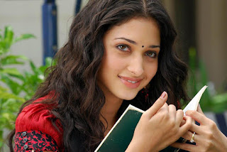 Tamanna Bhatia reading a book sexy smile best wallpapers