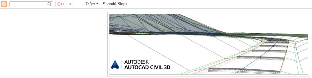 Civil 3D Sayfam