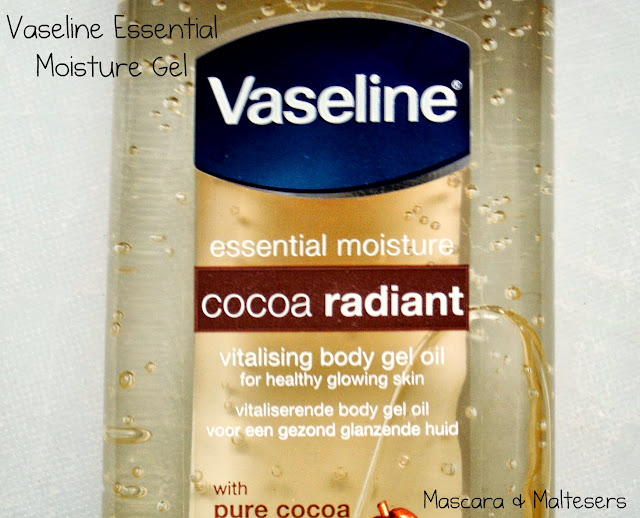 Vaseline Cocoa Butter Gel Body Oil