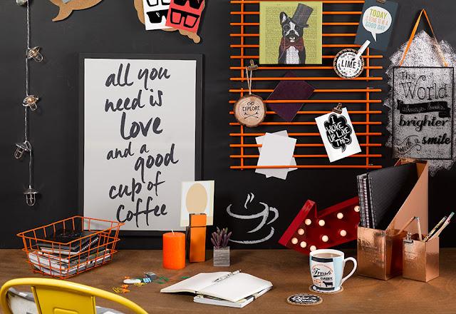 Primark home collection desk accessories