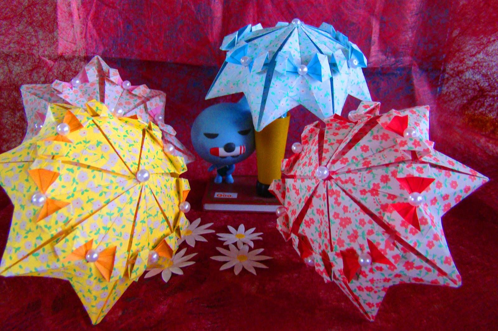 Origami Maniacs Umbrellas