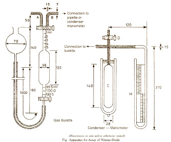 Apparatus for Assay of Nitrous Oxide