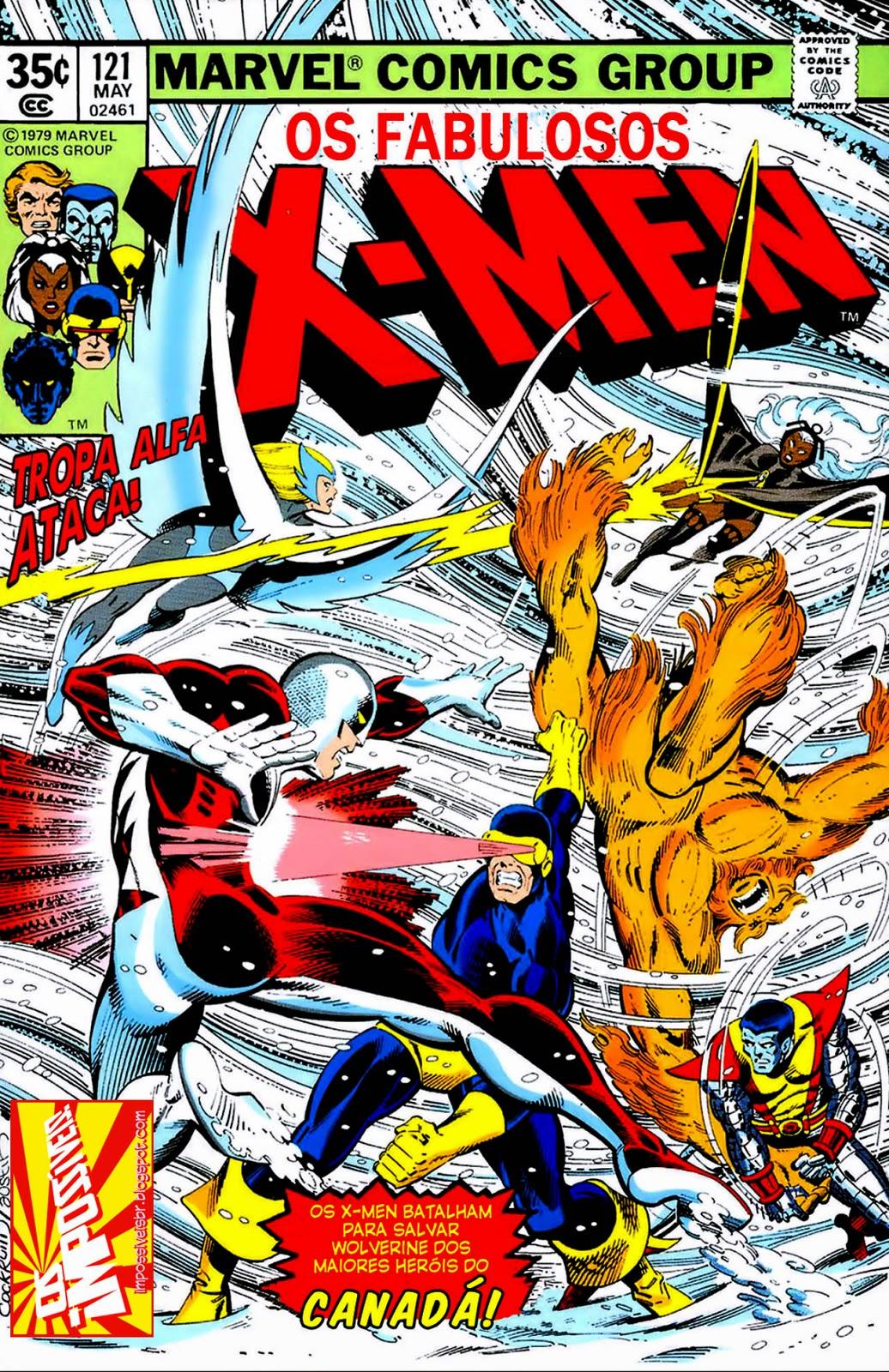 http://www.mediafire.com/download/aghgj2c5boqr7ex/Os.Fabulosos.X-Men.(X-Men.V1).121.HQBR.09NOV13.Os.Impossiveis.cbr