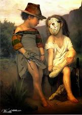 Halloween Gemälde berühmter Künstler