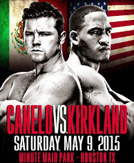 Who wins the big Saul Canelo Alvarez vs James Kirkland fight in Houston, Texas on HBO?