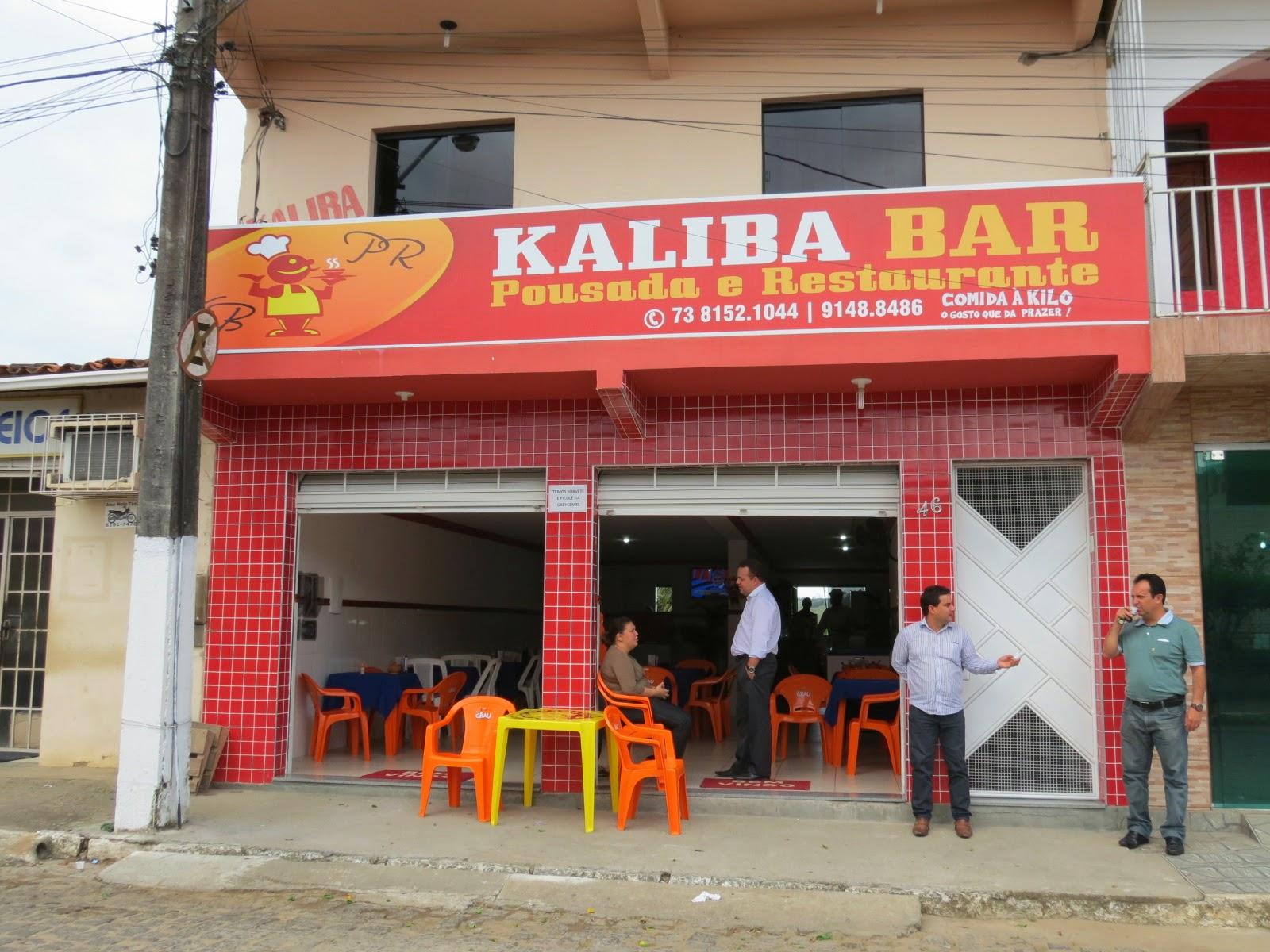 Kaliba - Bar/Restaurante/Pousada