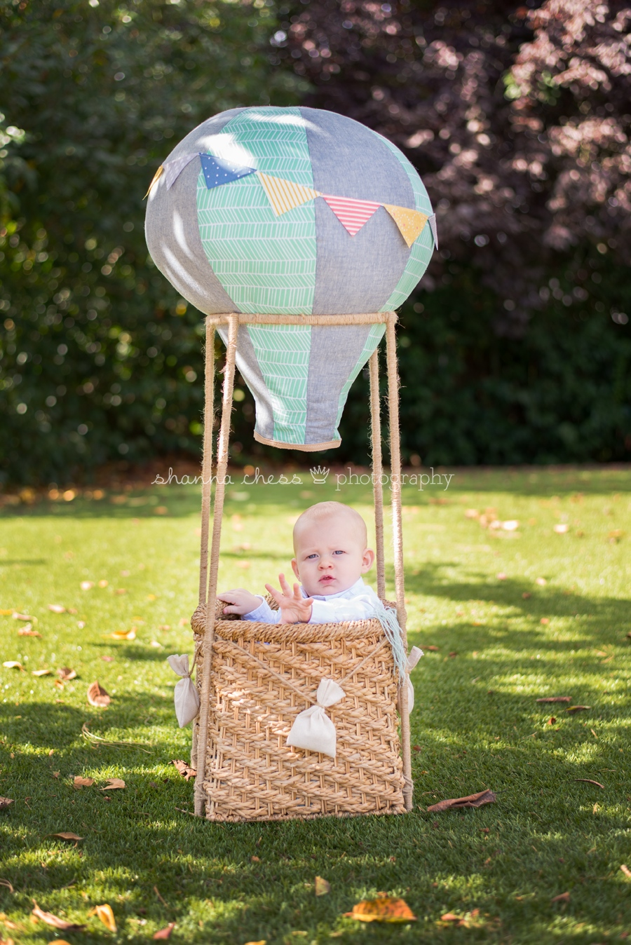 eugene springfield oregon baby photography hot air balloon