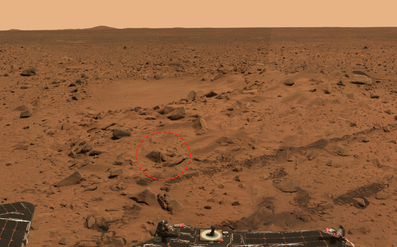 alien base on mars - photo #32