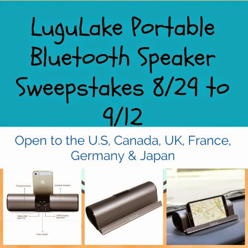 LuguLake Portable Bluetooth Speaker Sweepstakes
