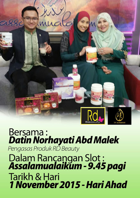 RD BEAUTY DI TV HIJRAH