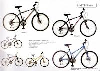 Sepeda Gunung Evergreen Blaze 2.1 Rangka Aloi 26 Inci